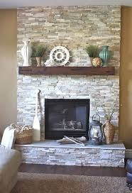 fireplace ideas with stone 15 stacked stone fireplace mantel ideas collections fireplace ideas