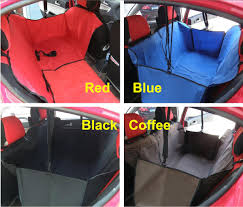 car auto pet dog cat safety waterproof hammock back seat cover