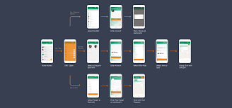 mobile app ux design for making payments simple