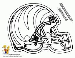 bengals football coloring pages book for boys 257675 coloring