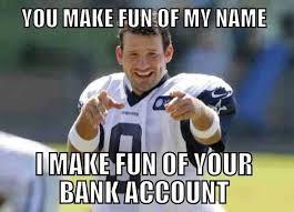 Funny Tony Romo Memes - inspirational hilarious tony romo testing testing