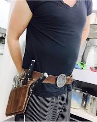 kitchen knives to go the zoonderbelt chef knives belt for chefs who likes their own