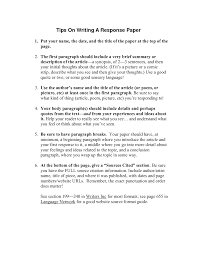 how do you write a white paper 5 essay writing tips to how do you write a reaction paper title of your reaction paper geology