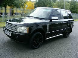 2005 rover range rover 4 2 supercharged auto met java black auto