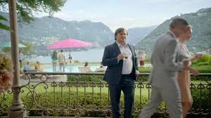 nespresso commercial actress jack black george clooney shows jack black how nespresso charms the ladies