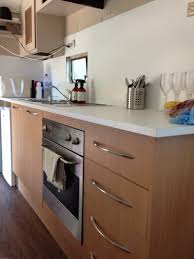Caravan Kitchen Cabinets Our Caravan Makeover The Stylist Splash