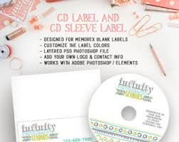 photography client cd dvd label pink sketch camera template