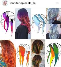 the latest hair colour techniques 52 best fashion colors images on pinterest colourful hair hair