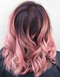 medium length hair with ombre highlights 40 ombre hair color and style ideas