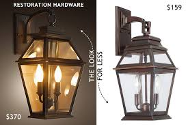 Restoration Hardware Wall Sconces Wall Sconce L An Effective Source Of Light Lighting And