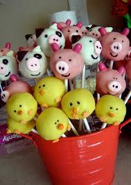 farm animal cake pops by gypsysweetart on etsy 26 00 lets