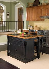 kitchen island with amazon com home styles 5009 948 monarch granite top kitchen