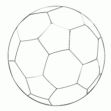 stylish gorgeous soccer ball coloring