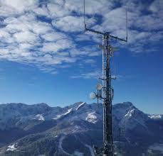 radio network measures rainfall