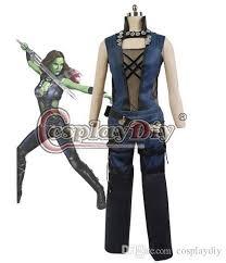 Gamora Costume Custom Made Guardians Of The Galaxy Gamora Cosplay Costume