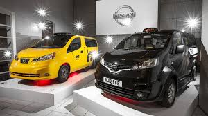 nissan nv200 taxi nissan nv200 london taxi unveiled