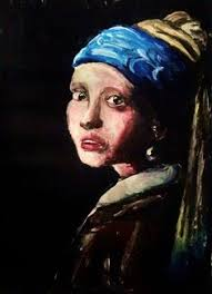 painting the girl with the pearl earring girl with a pearl earring girl with a pearl earring