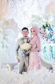 wedding dress surabaya pink adeline by laksmi kebaya muslimah islamic