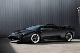 Lamborghini Murcielago Old - rare lamborghini diablo gt gets carbon fiber accents from topcar
