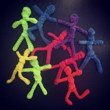 pipe cleaner people art projects for kids