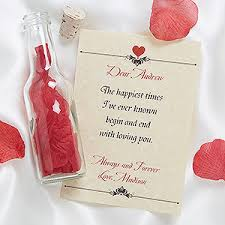 personlized gifts letter in a bottle personalized gifts