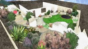 ideas for landscaping steep hillside landscaping ideas garden