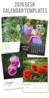 Diy Desk Calendar by Easy To Customize 2016 Desk Calendar Templates U2014 April Bern