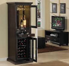 Home Bar Cabinet With Refrigerator - cabinets inspiring wine cabinets for home tall wine cabinet