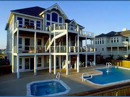 Cottage Rentals Outer Banks Nc by Seven Cousins Cottage 7 Bedroom Ocean Front Home In Hatteras Obx Nc