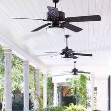 Jennix Ceiling Fan modern u0026 contemporary outdoor ceiling fan with light allmodern