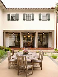 exterior paint color patio traditional with steel window window