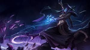 video game league of legends soraka skin halloween harrowing