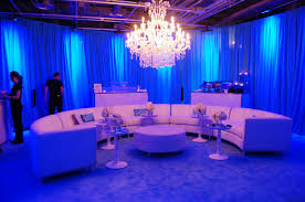 party furniture rentals a white curved sectional sofa with chandelier gorgeous event