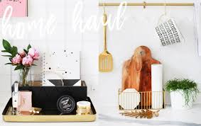 Hm Home Decor by H U0026m Home Haul Kate La Vie Youtube