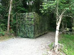 shipping container hunting blind saf t box