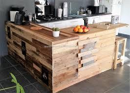 repurposed kitchen island pallet kitchen island wood pallet furniture