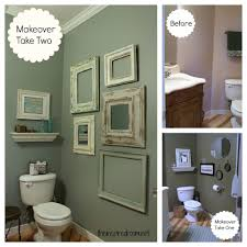 Bathroom Ideas For Small Spaces On A Budget Powder Room Take Two 2nd Budget Makeover Reveal The Inspired
