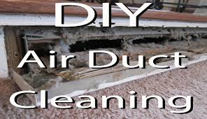 diy clean your air heat vents youtube