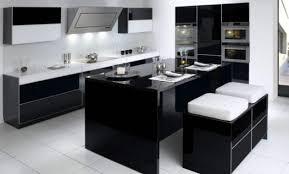 decoration cuisine noir et blanc décoration cuisine americaine noir et blanc 98 cuisine