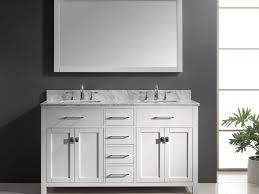 vanity double sink vanities 55 inch double sink bathroom vanity