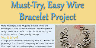 wire jewelry bracelet images How to make wire jewelry the right way wire bracelets interweave jpg
