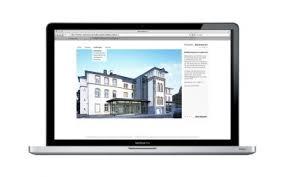 architektur homepage webdesign für architekten