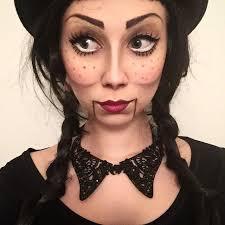 Scary Doll Halloween Costume 25 Ventriloquist Makeup Ideas Puppet Makeup