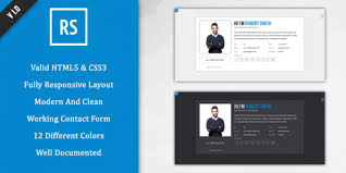 resume html template resume and cv website templates therpgmovie