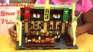 Hogwarts Dining Hall by Lego Harry Potter Hogwarts Castle Extending The Great Hall