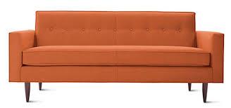 Kates Top Midcentury Modern Sofas Available Today Retro - Straight line sofa designs