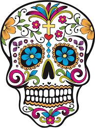 dia de los muertos sugar skulls dia de los muertos sugar skull diy footprint painting activity for