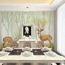 wandbilder fã r schlafzimmer 3d geprägte elk animal wandbild foto tapeten für kinder