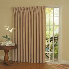 Patio Panel Pet Door by Blackout Thermaweave Patio Door Curtain