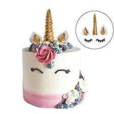 unicorn cake topper gmakceder unicorn cake topper reusable unicorn horn